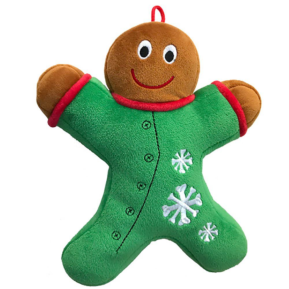 Lulubelles Power Plush Holiday Dog Toy - Long John
