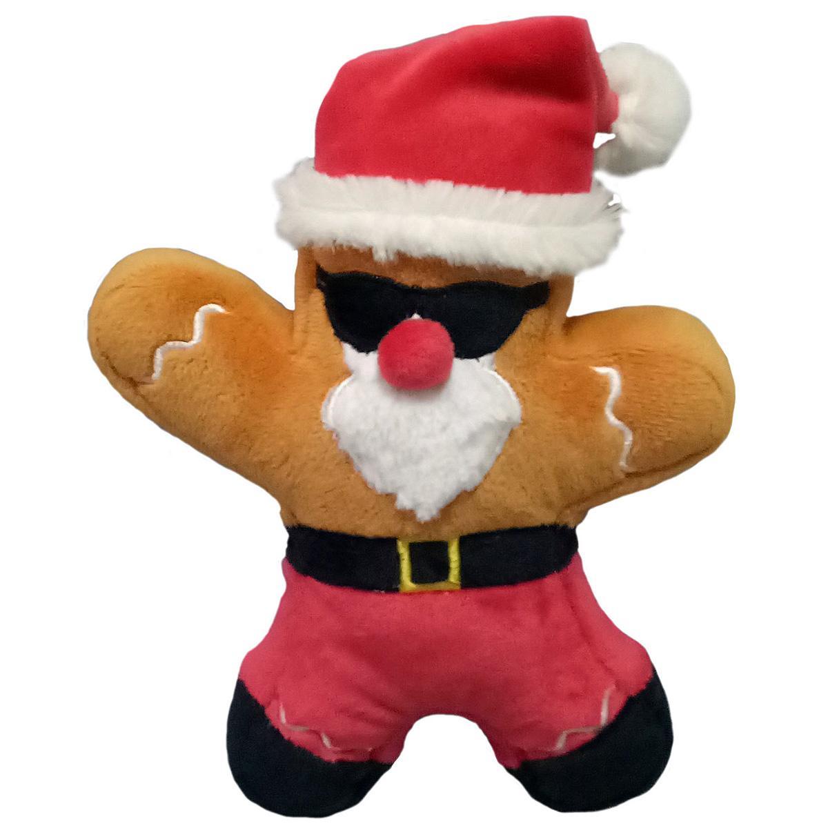Lulubelles Power Plush Holiday Dog Toy - Snowbird Santa