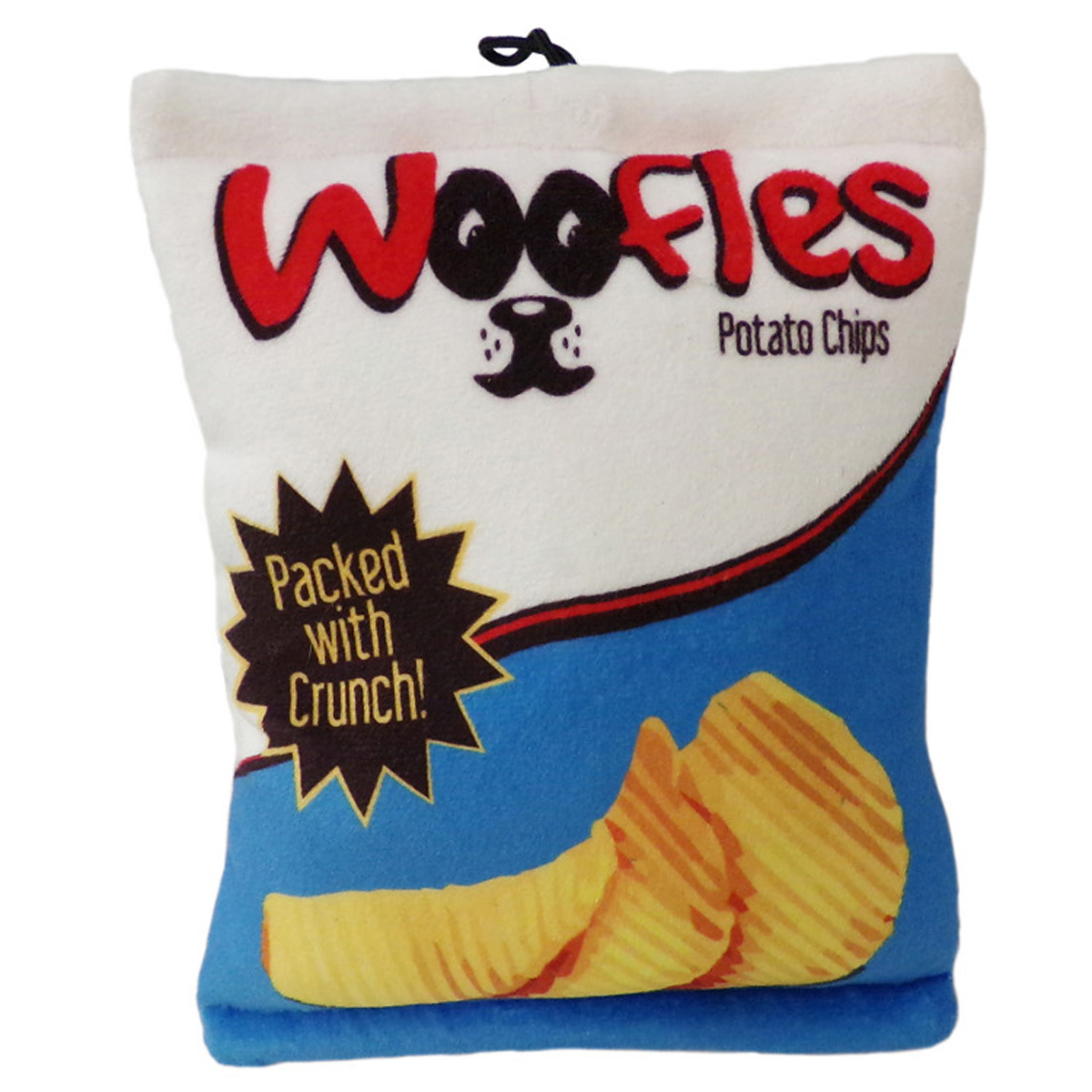 Lulubelles Power Plush Woofles Potato Chips Dog Toy