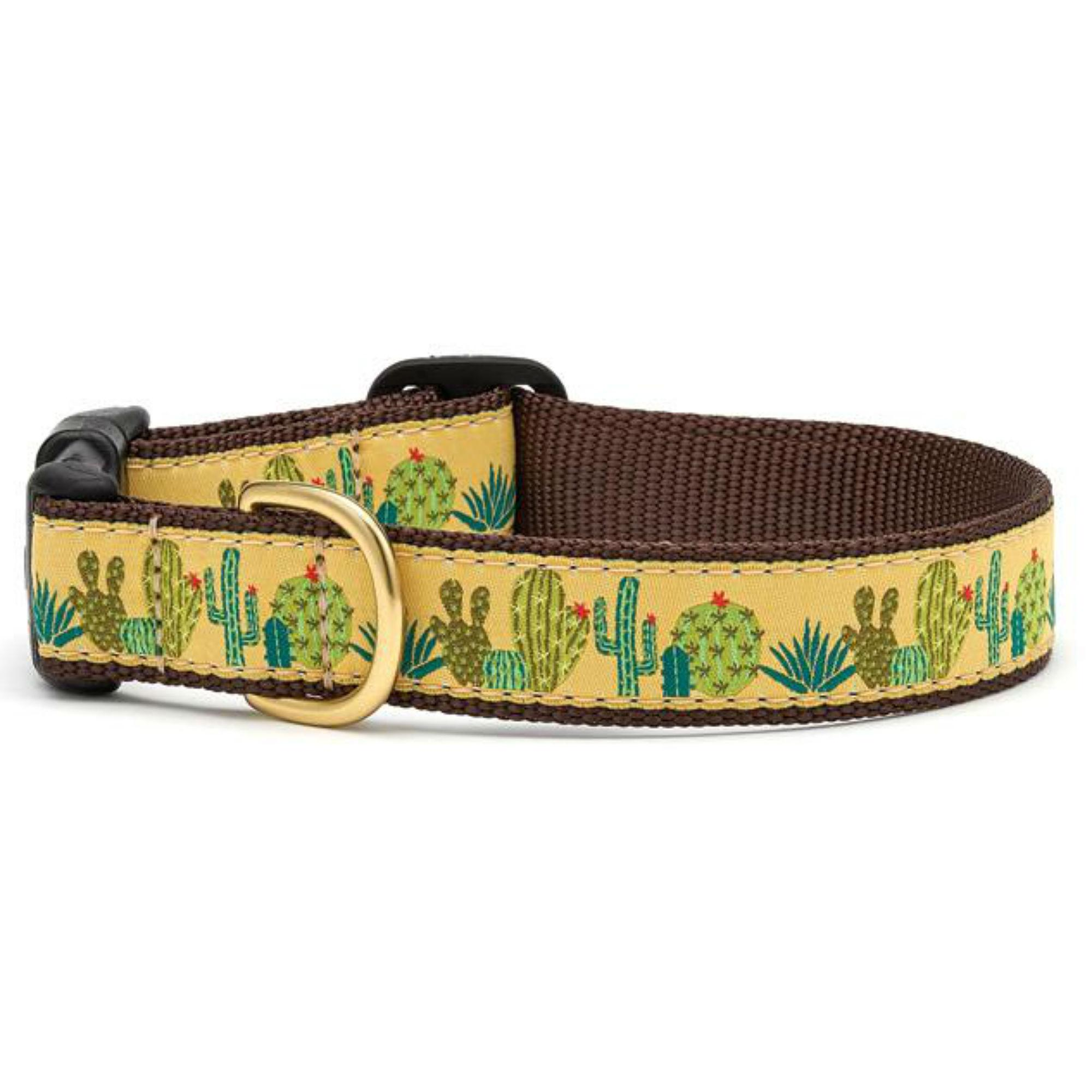 Succulents Dog Collar by Up Country