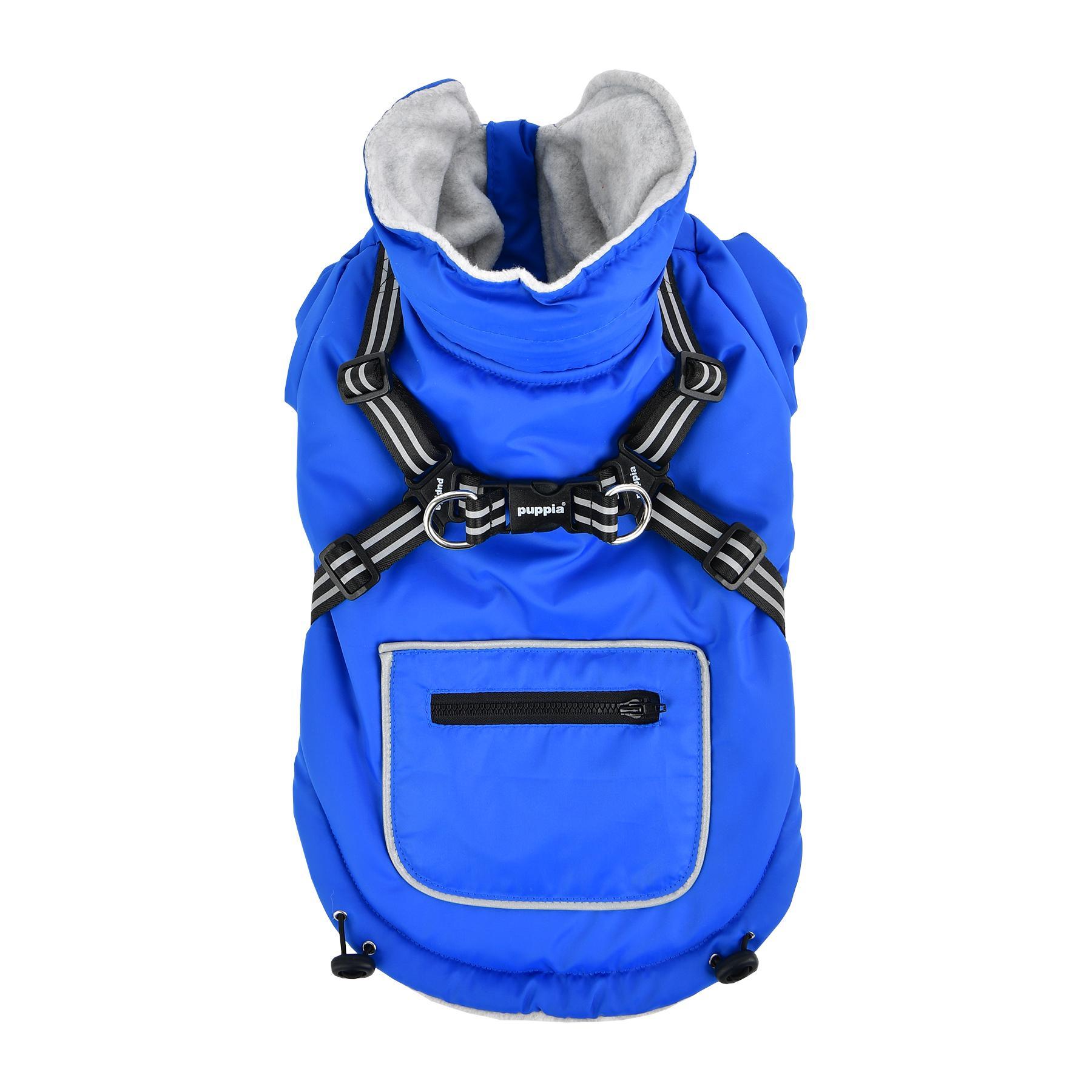 Mallory Fleece Dog Vest By Puppia - Royal Blue