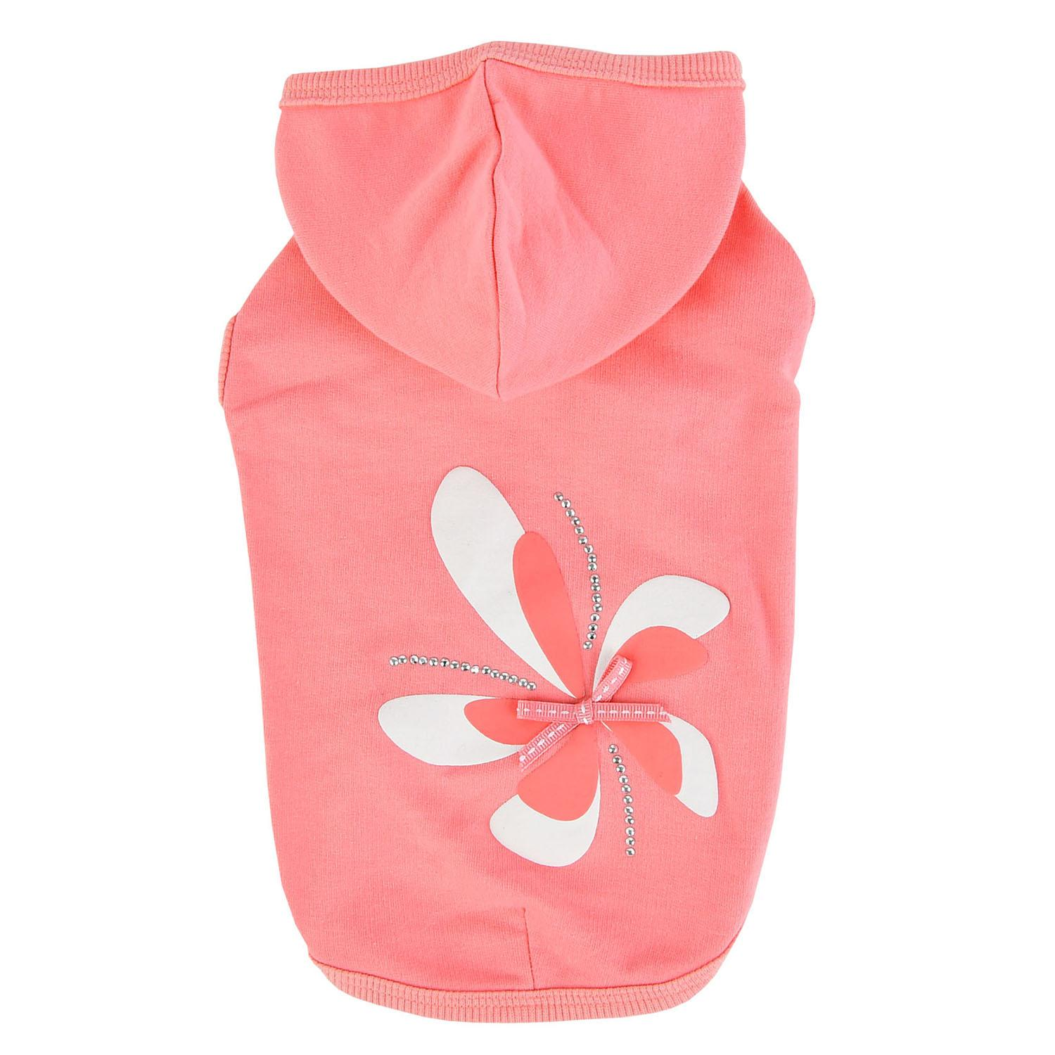 Azalea Dog Hoodie by Pinkaholic - Indian Pink