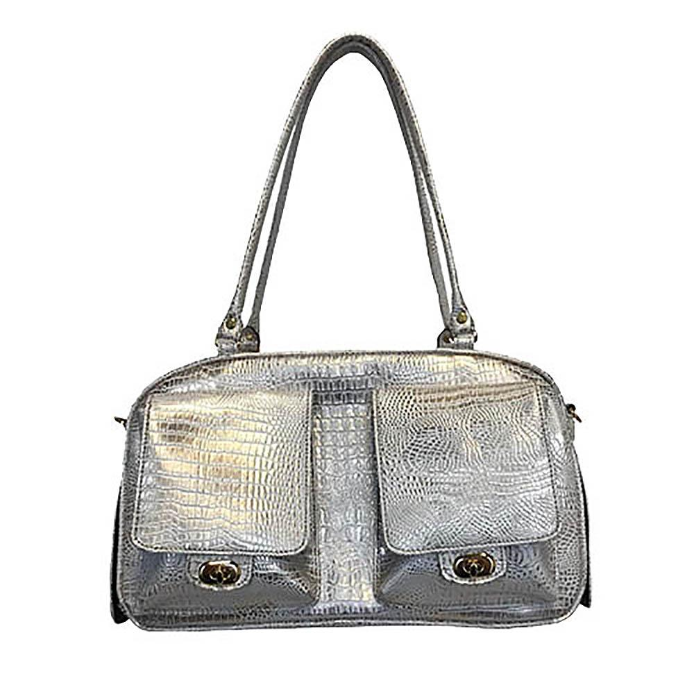 Marlee Dog Carrier by Petote - Ice Croco
