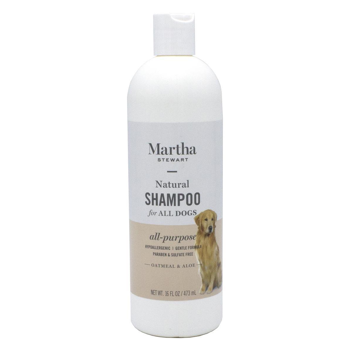 Martha Stewart All-Purpose Shampoo for Dogs with Oatmeal and Aloe