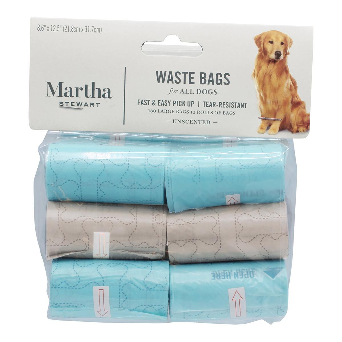 Martha Stewart Pets Dog Waste Bag Refill Rolls - 180 Bags