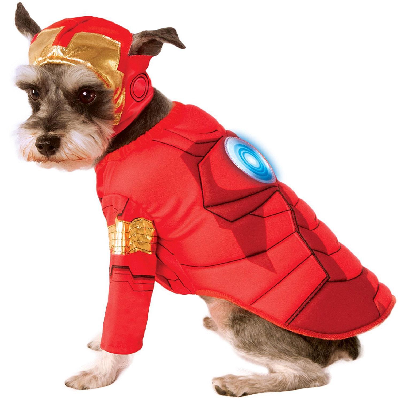 Marvel Deluxe Iron Man Dog Costume