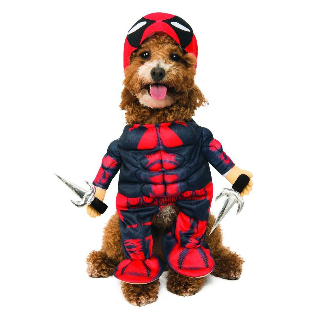 Marvel Walking Deadpool Dog Costume by Rubies