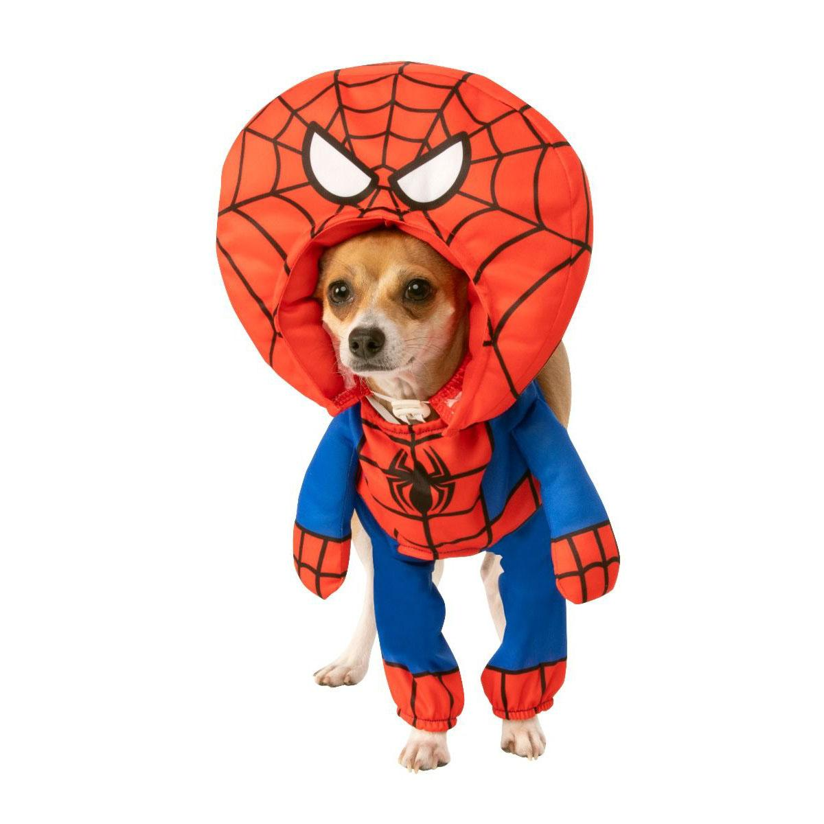 Marvel Walking Spider-Man Big Head Dog Costume