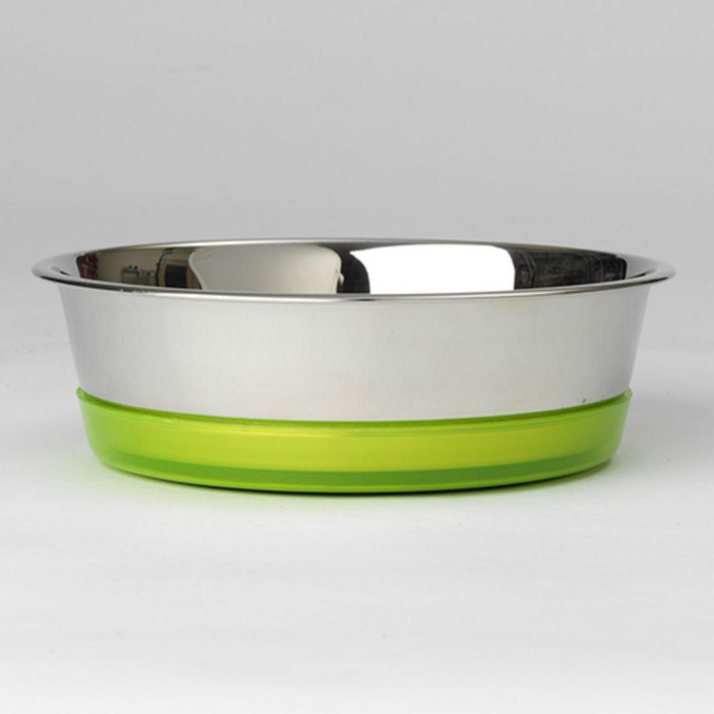 Maui Stainless Steel Dog Bowls - Lime