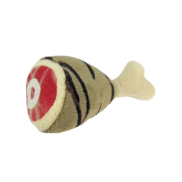Meat Lovers Dog Toys by Hip Doggie - Tiger Drumstick