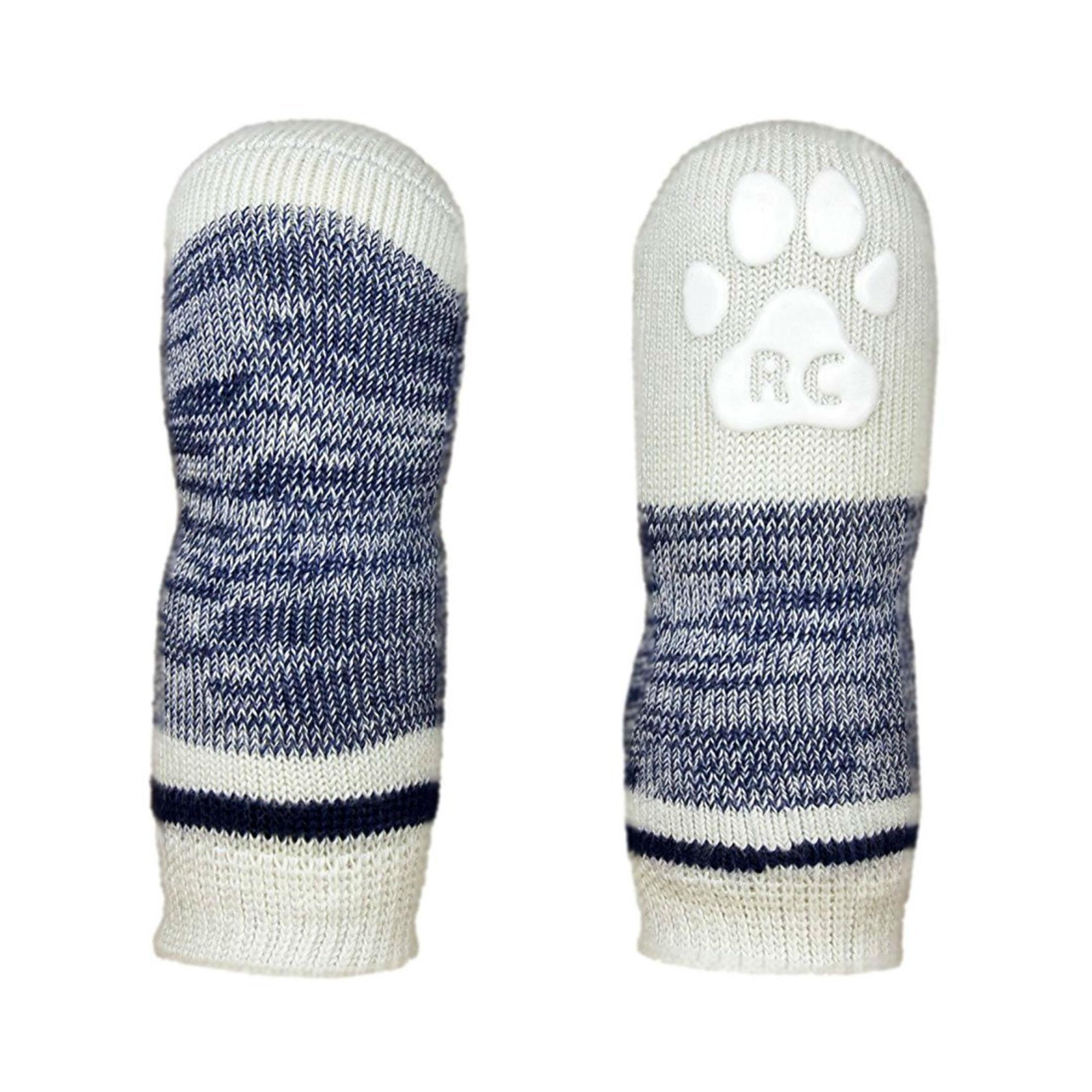 Melange PAWks Dog Socks - Navy