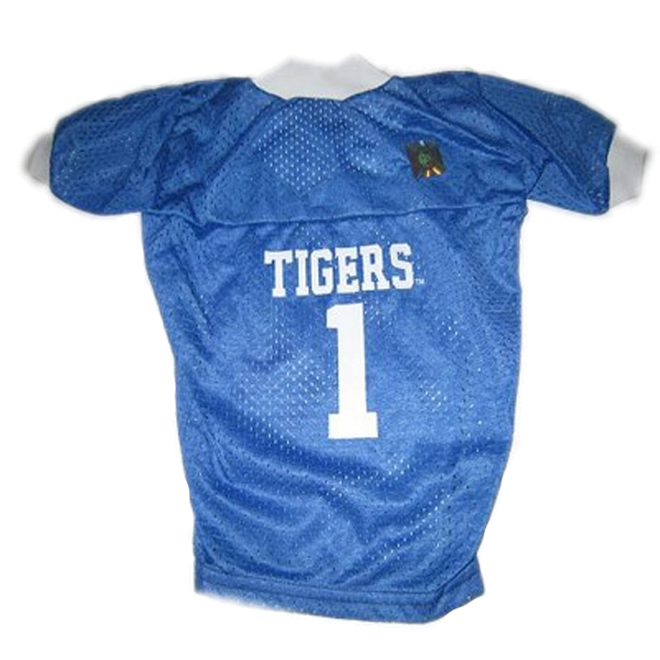 Memphis Tigers Dog Jersey - Blue