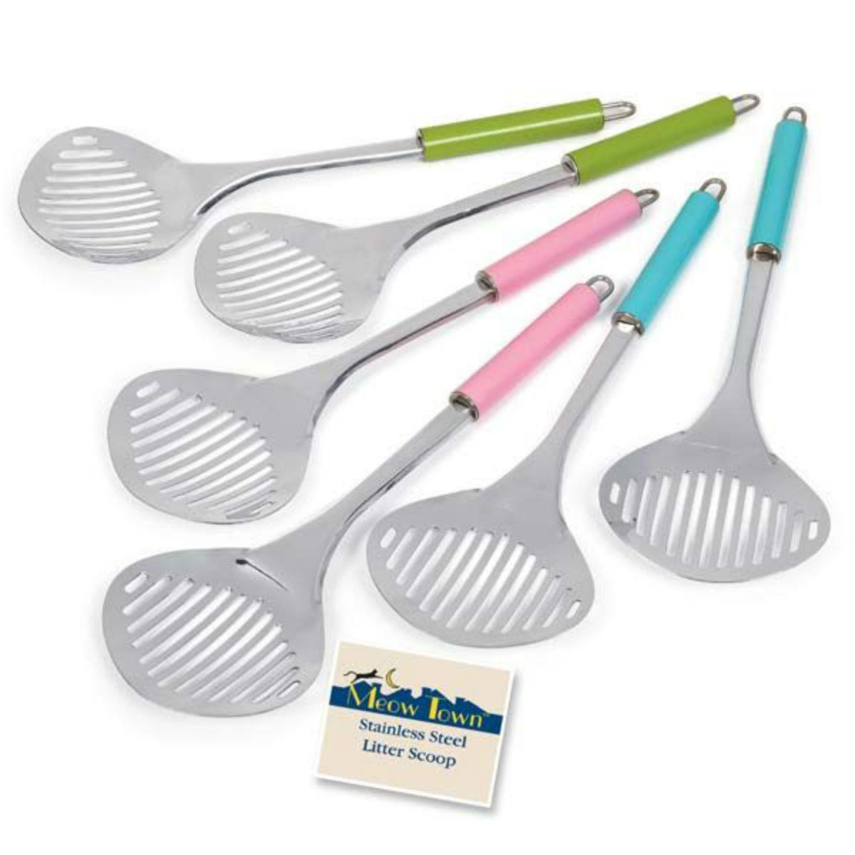 Meow Town Stainless Steel Cat Litter Scoop