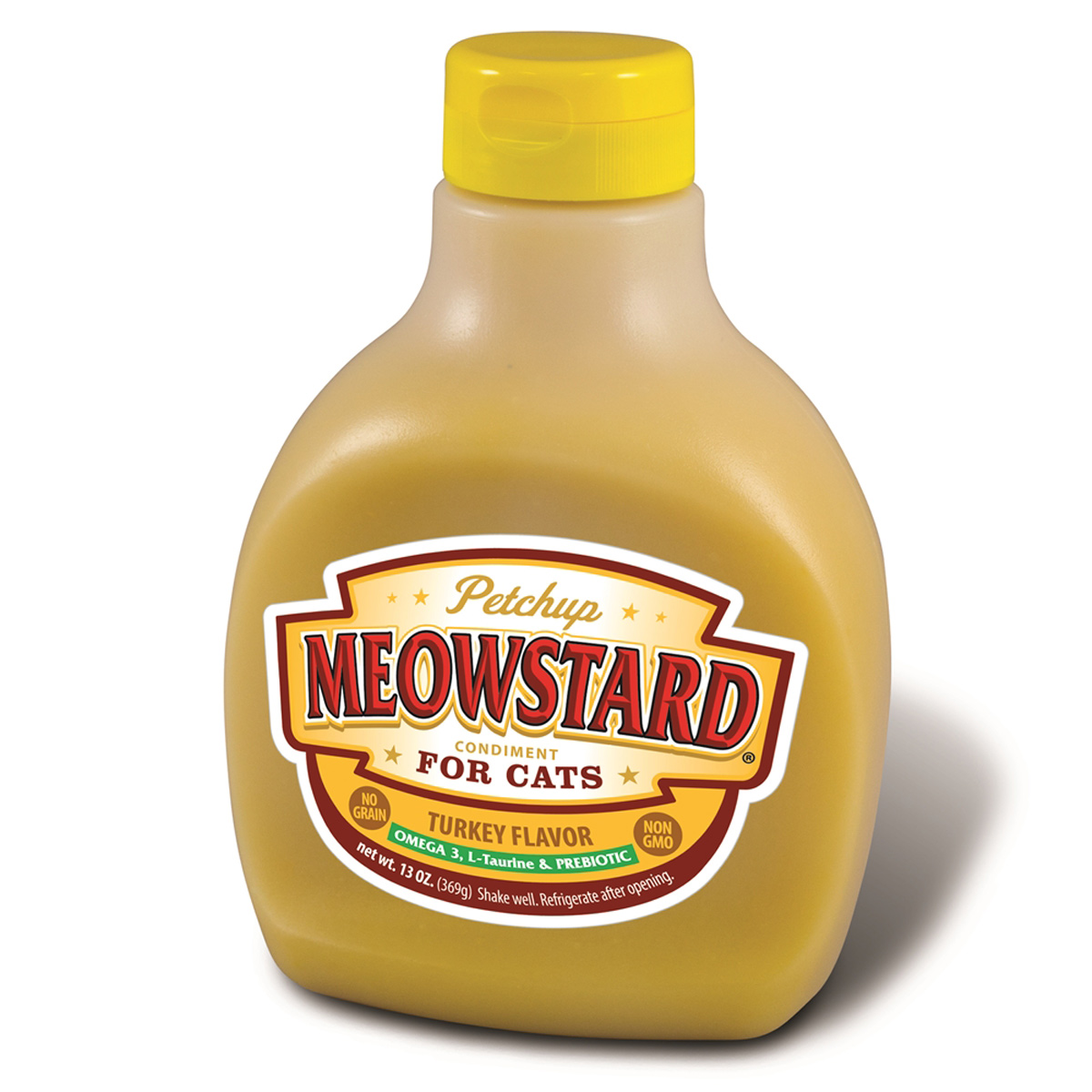 Meowstard Cat Food Condiment by Petchup - Turkey Flavored