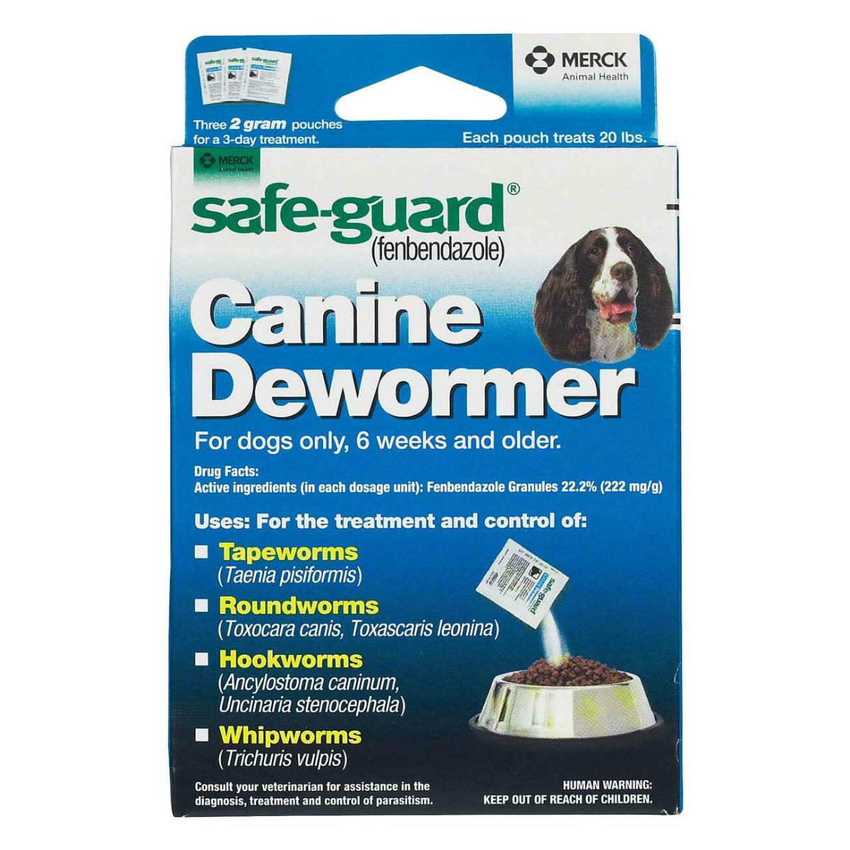 Merck Safeguard Canine Dewormer Dog Treatment