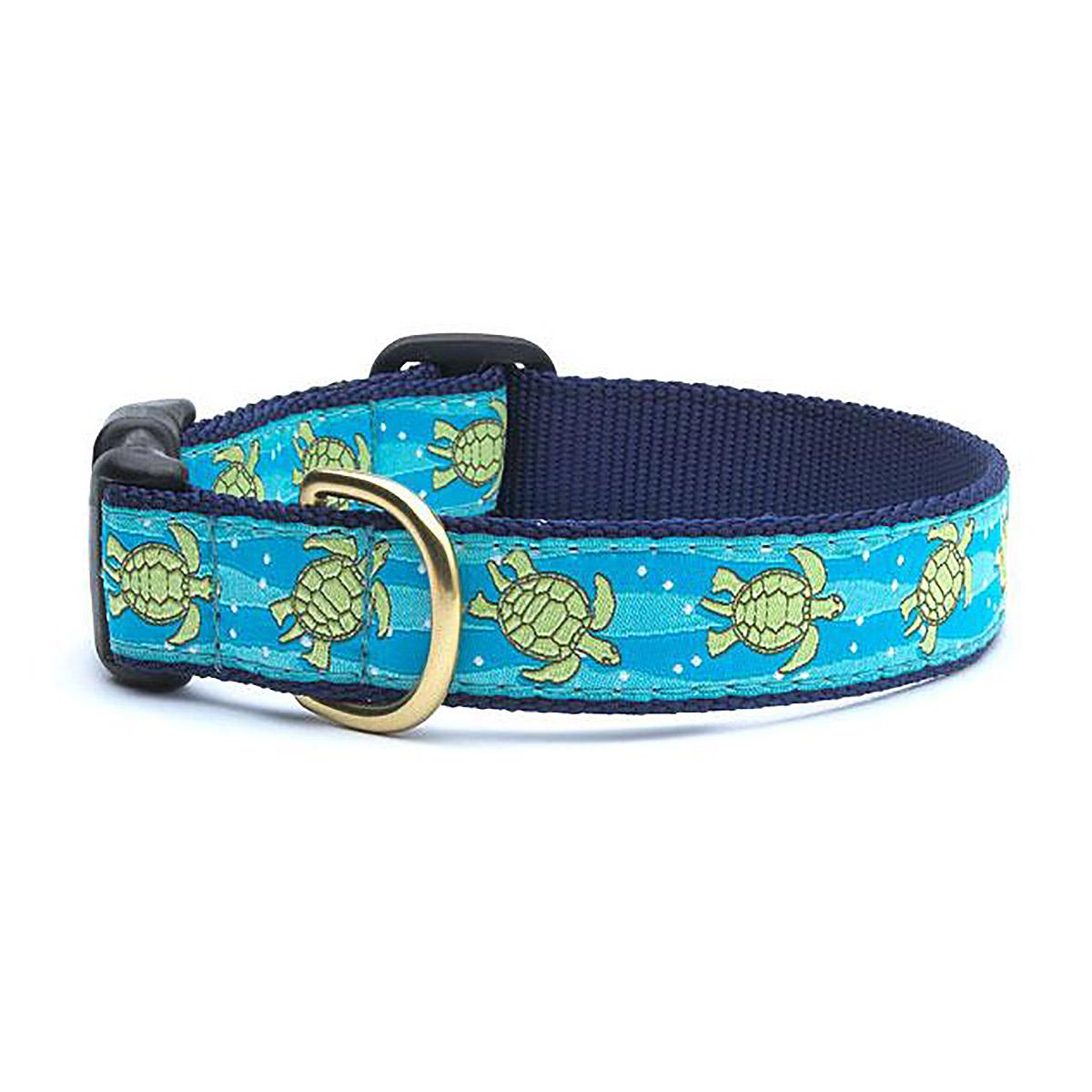 Sea Turtle Dog Collar by Up Country