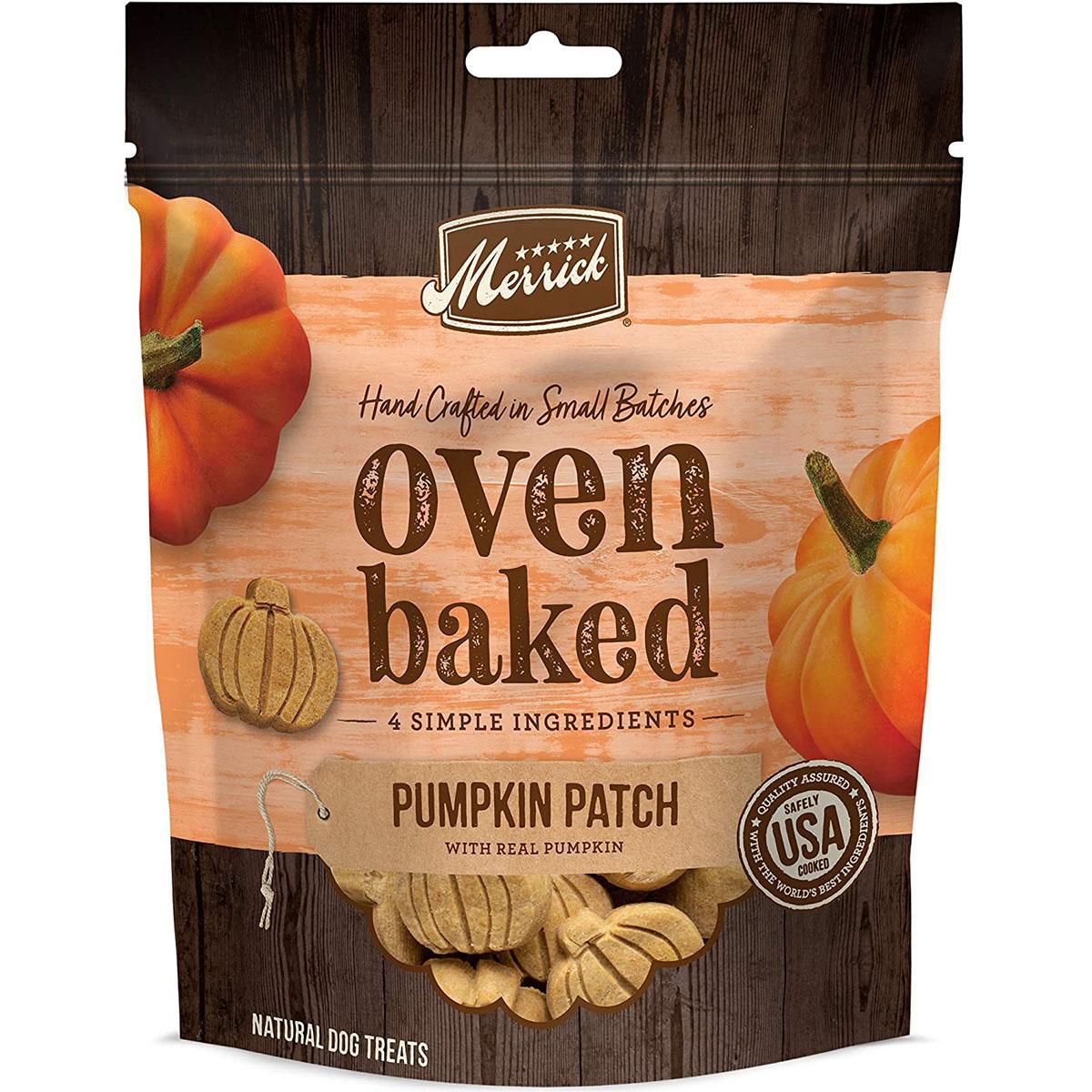 Merrick Oven-Baked Pumpkin Patch Dog Treats
