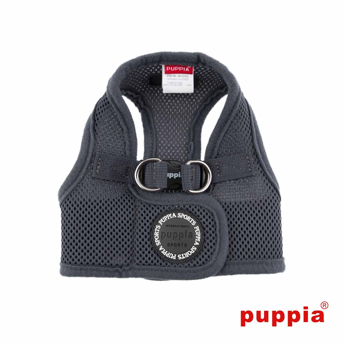 Mesh Soft Harness Vest by Puppia - Grey
