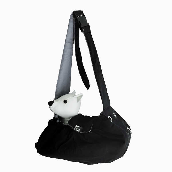 Messenger Bag Carrier by Dogo - Black
