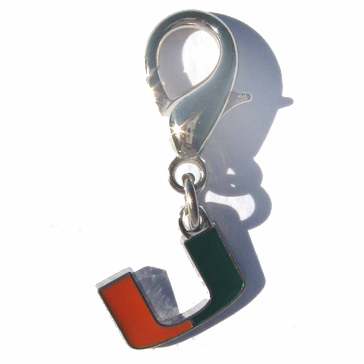 Miami Hurricanes Dog Collar Charm