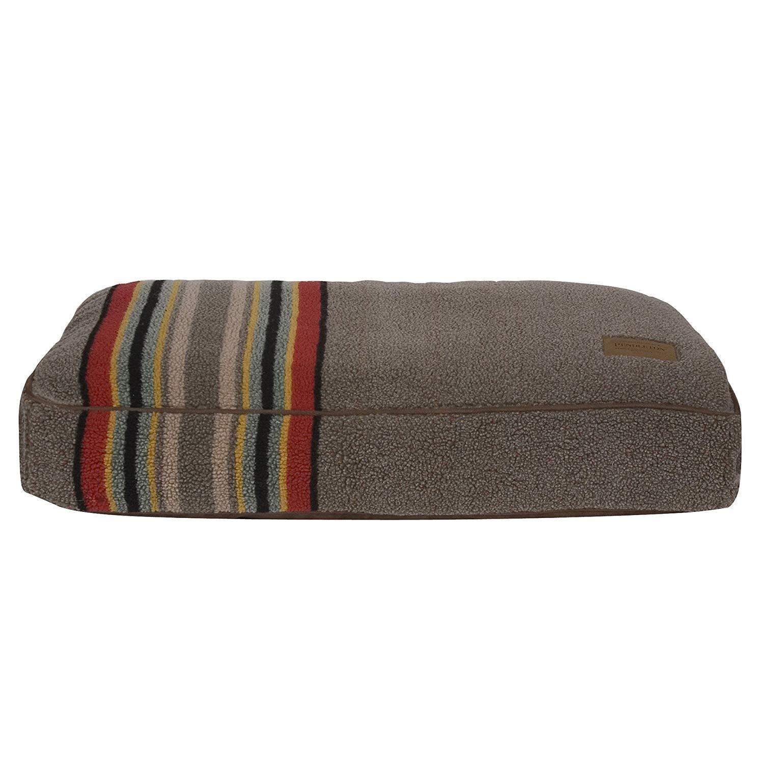Pendleton Yakima Camp Berber Dog Bed - Umber