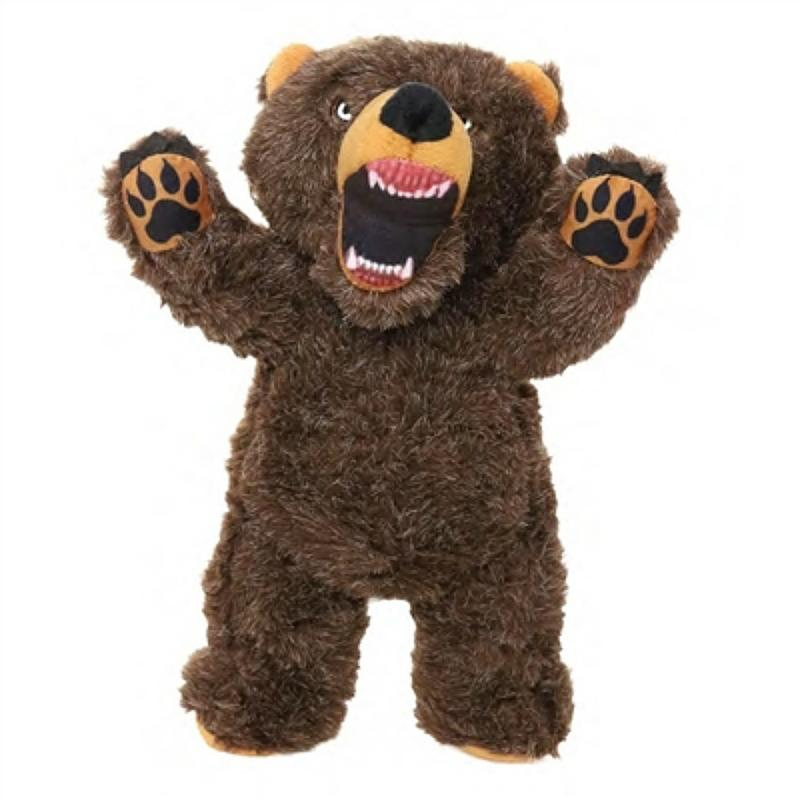 Mighty Angry Animals Dog Toy - Bear