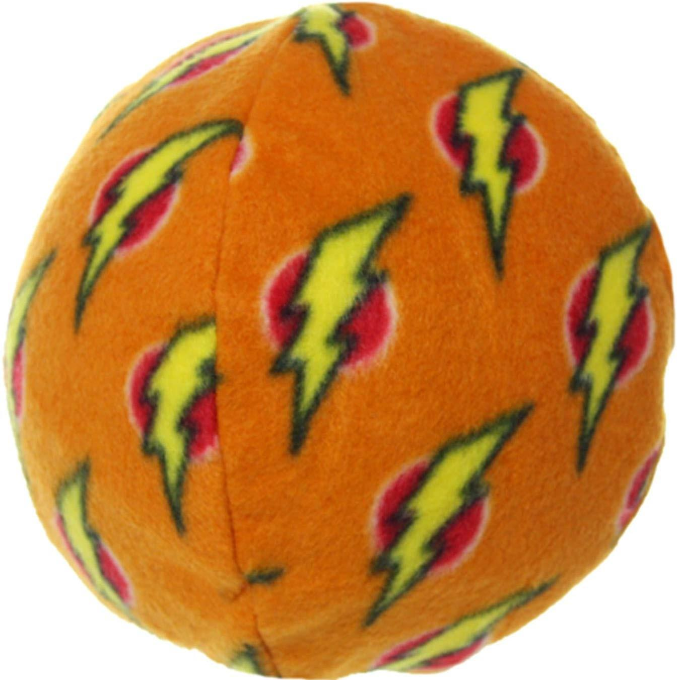 Mighty Ball Dog Toy - Orange Flash