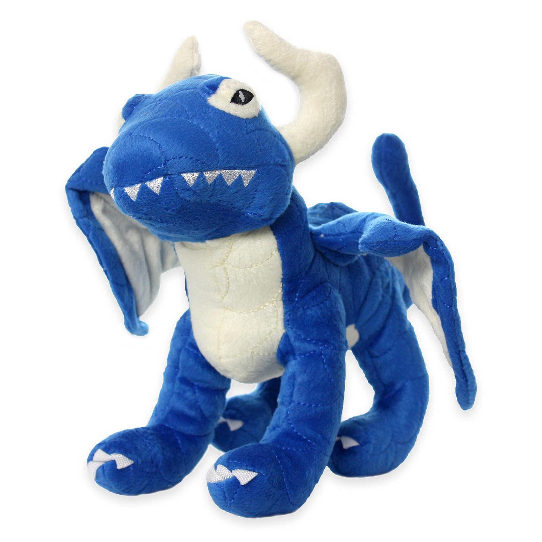 Mighty Dragon Dog Toy - Blue