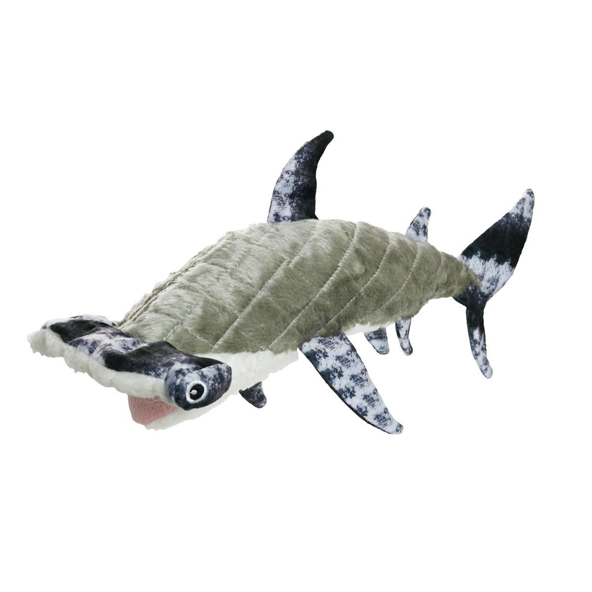 Mighty Ocean Series Dog Toy - Hunter Hammerhead