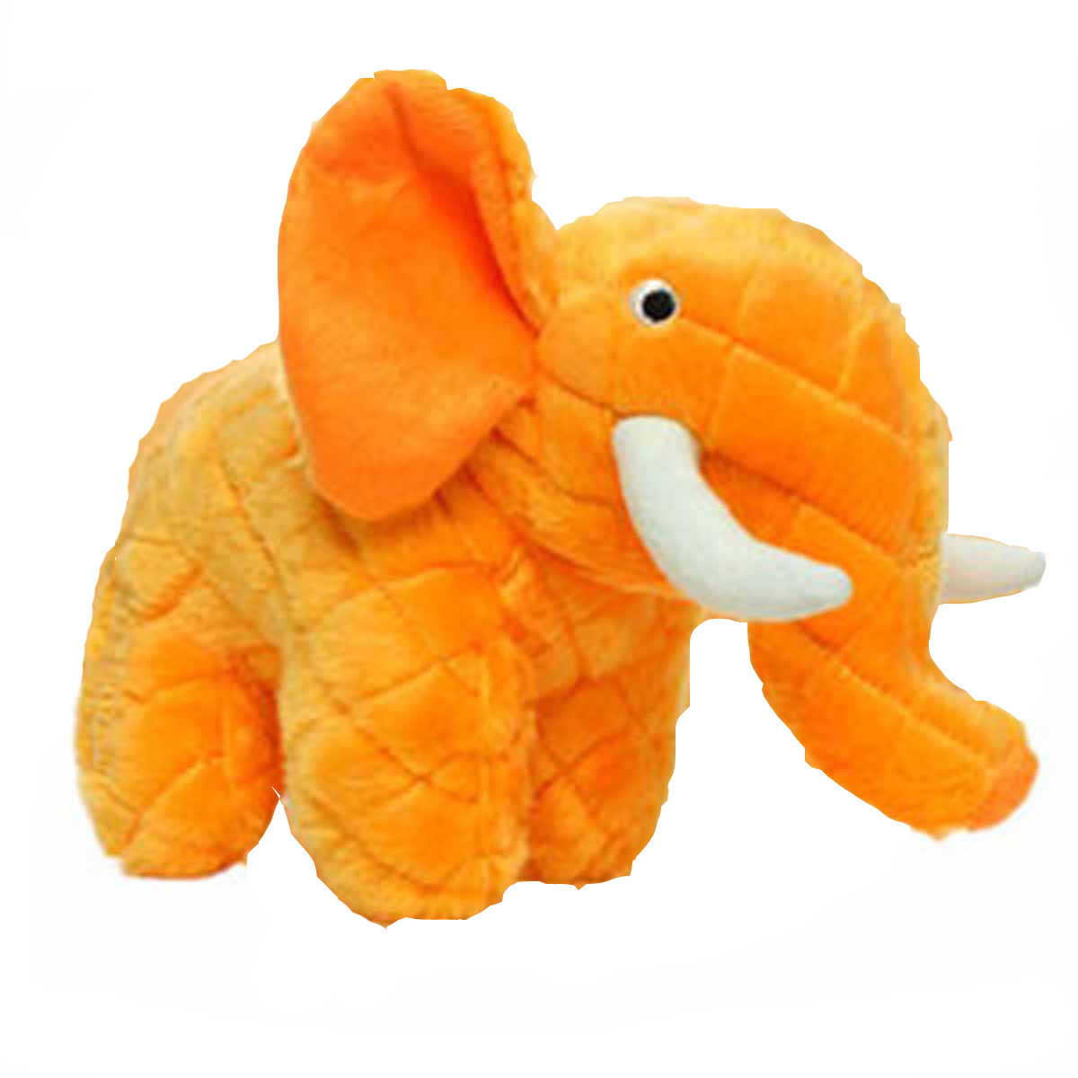 Mighty Safari Dog Toy - Ellie the Orange Elephant