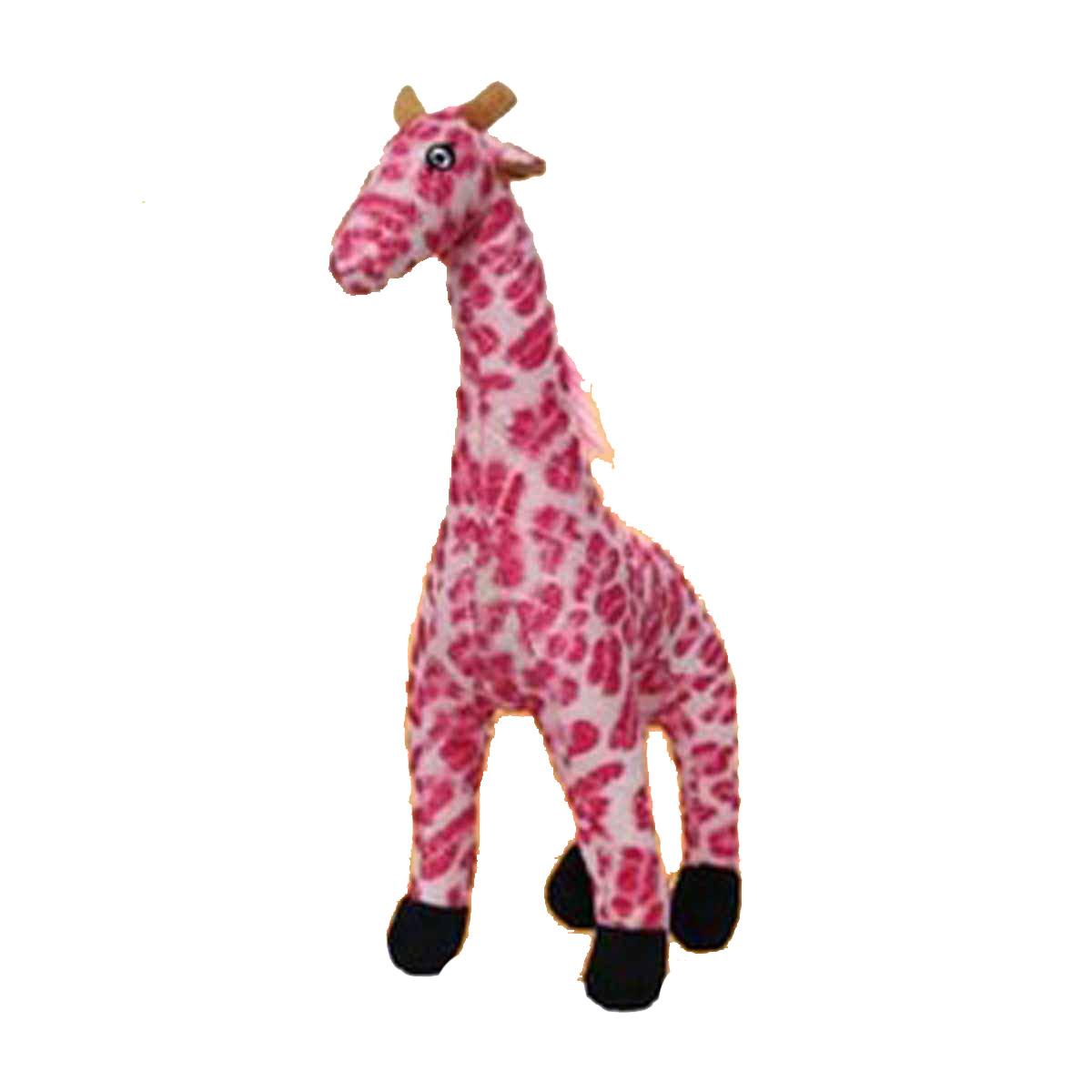 Mighty Safari Dog Toy - Gina the Pink Giraffe