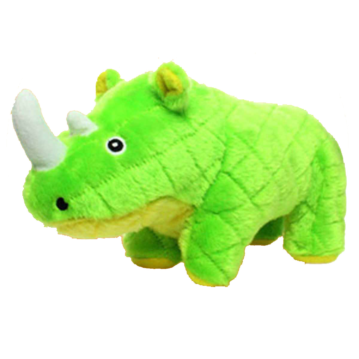 Mighty Safari Dog Toy - Rhoni the Green Rhino