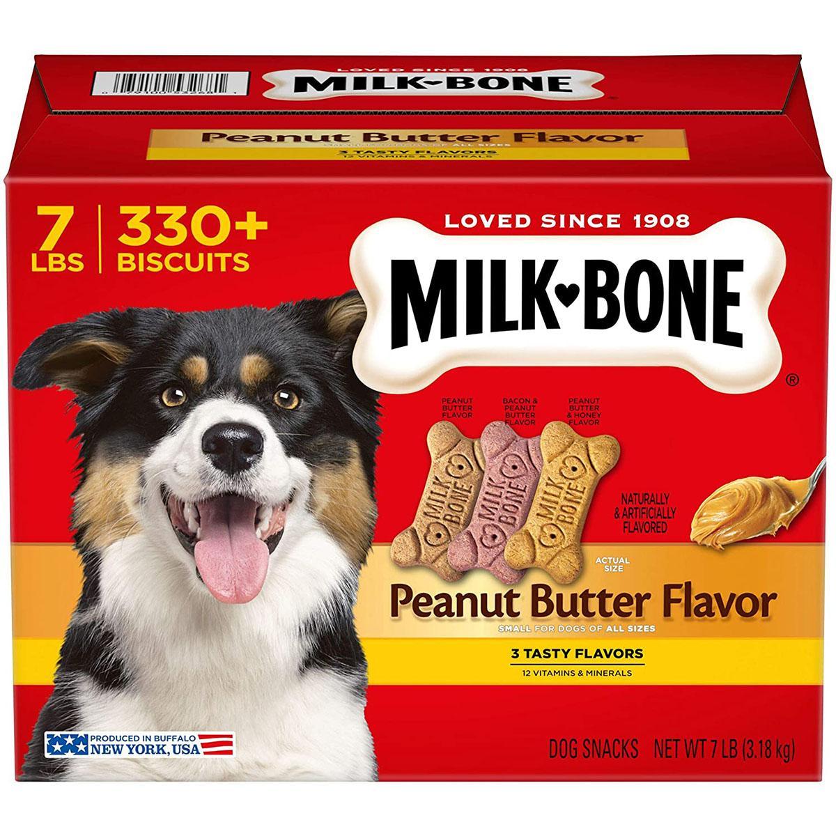 Milk-Bone Small/Medium Peanut Butter Flavor Variety Dog Treats