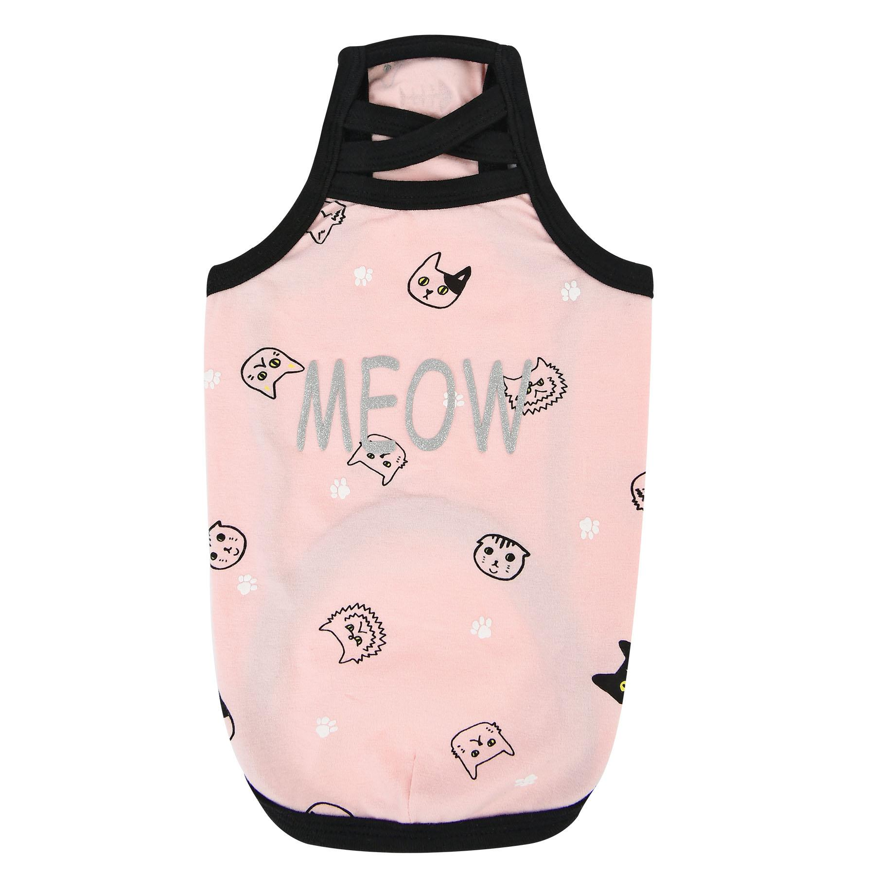 Mimi Cat Tank Top by Catspia - Pink