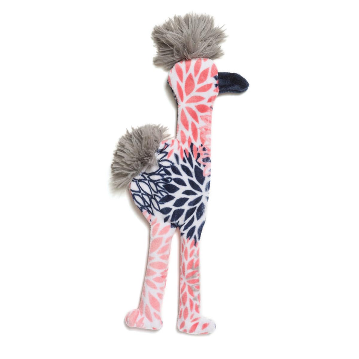 Mingo Stuffing-Free Dog Toy - Carnation