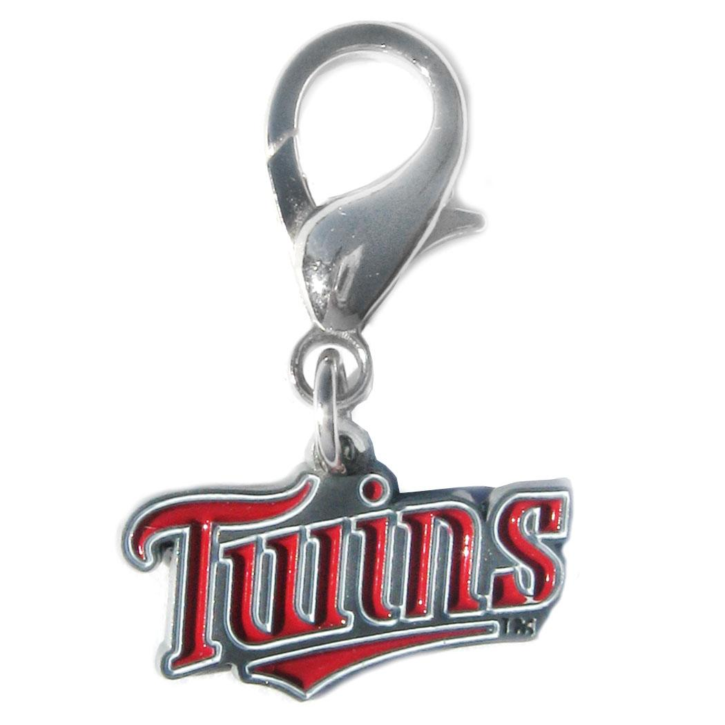 Minnesota Twins Logo Dog Collar Charm