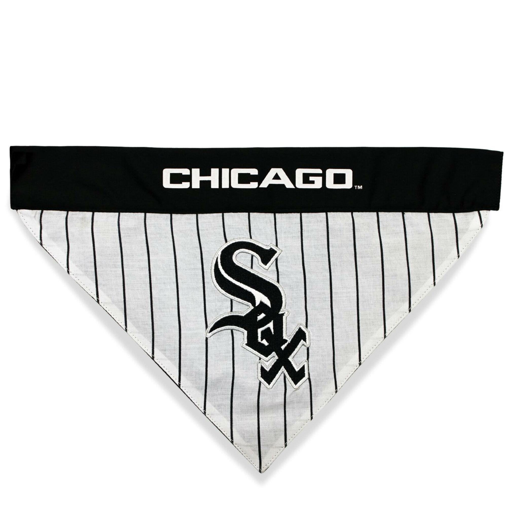 Chicago White Sox Reversible Dog Bandana Collar Slider