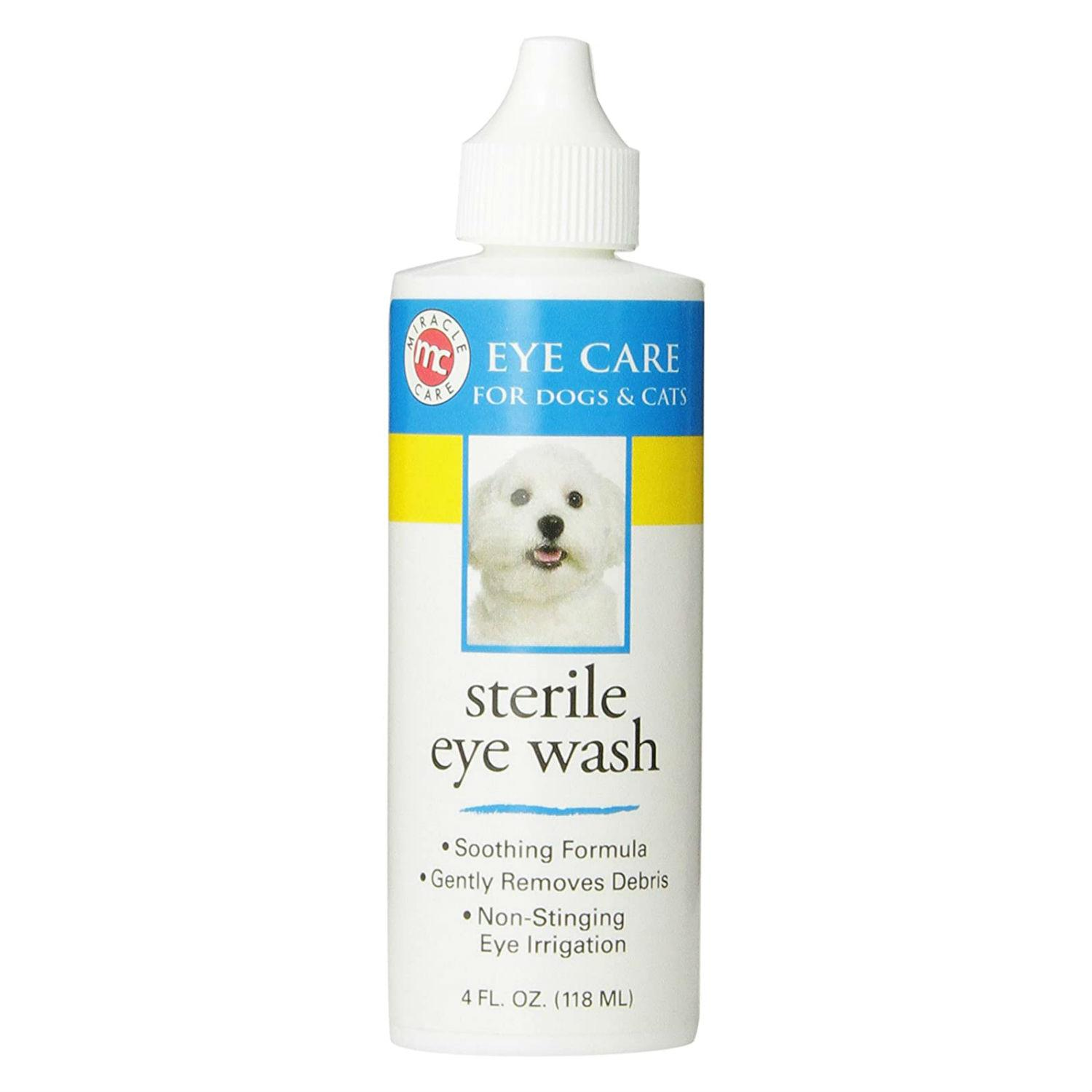 Miracle Care Eye Clear Sterile Eye Wash for Dogs and Cats