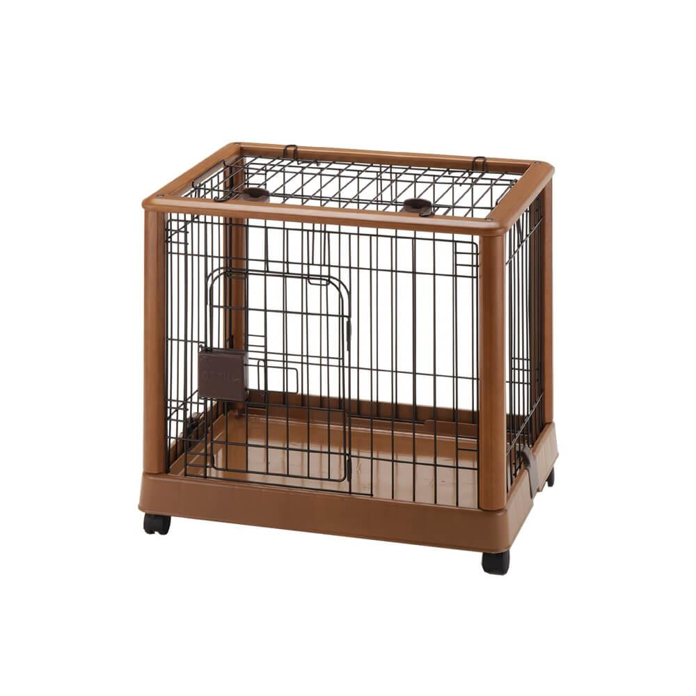 Mobile Dog Pen 640 by Richell - Autumn Matte