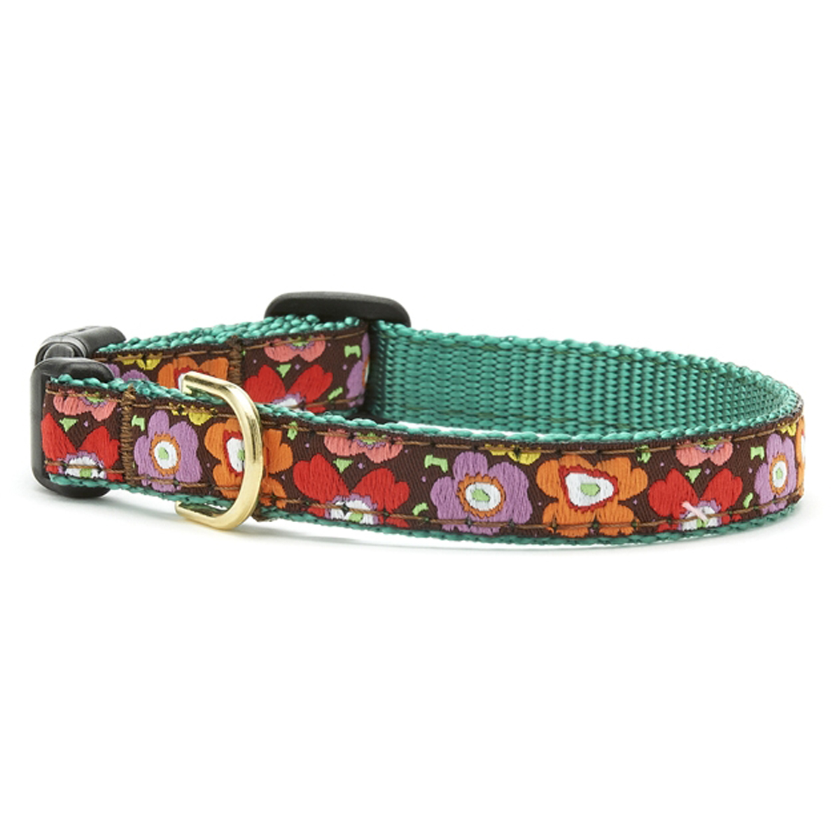 Mod Floral Dog Collar by Up Country