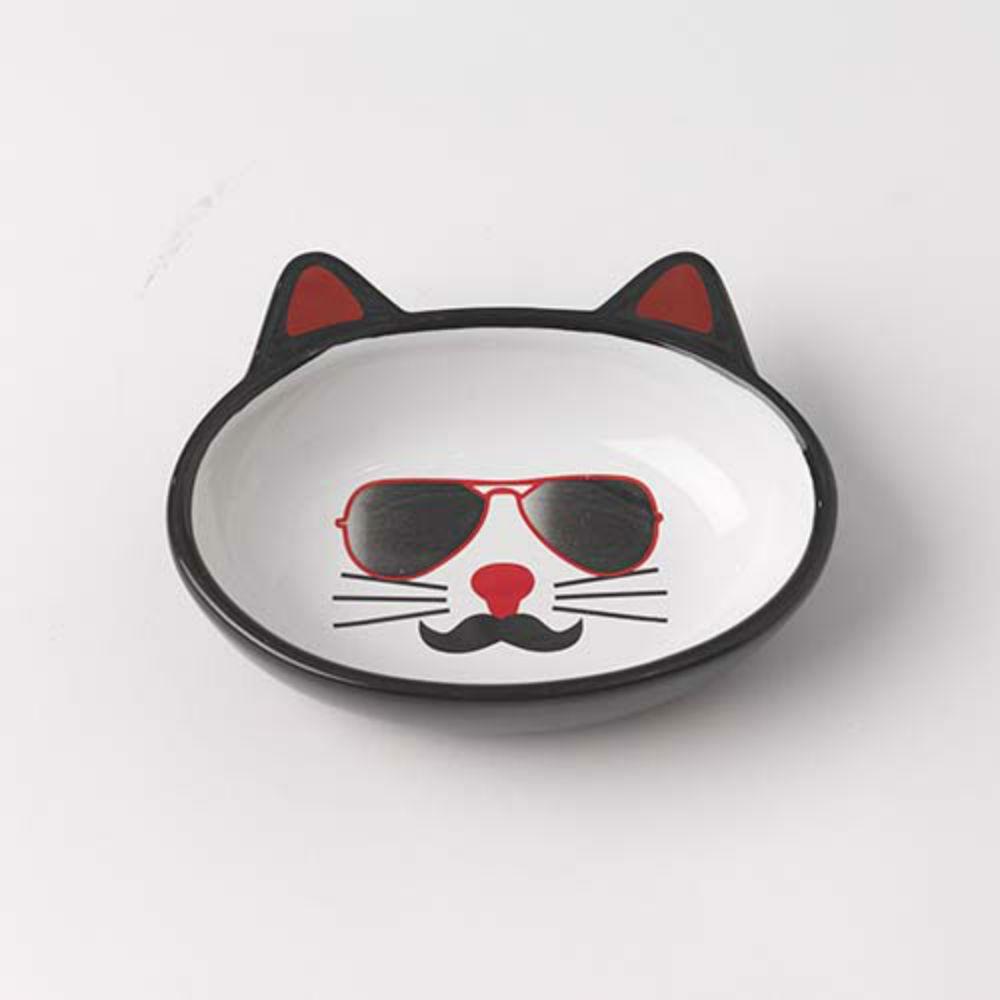 Mon Ami Pierre Oval Cat Food Bowl