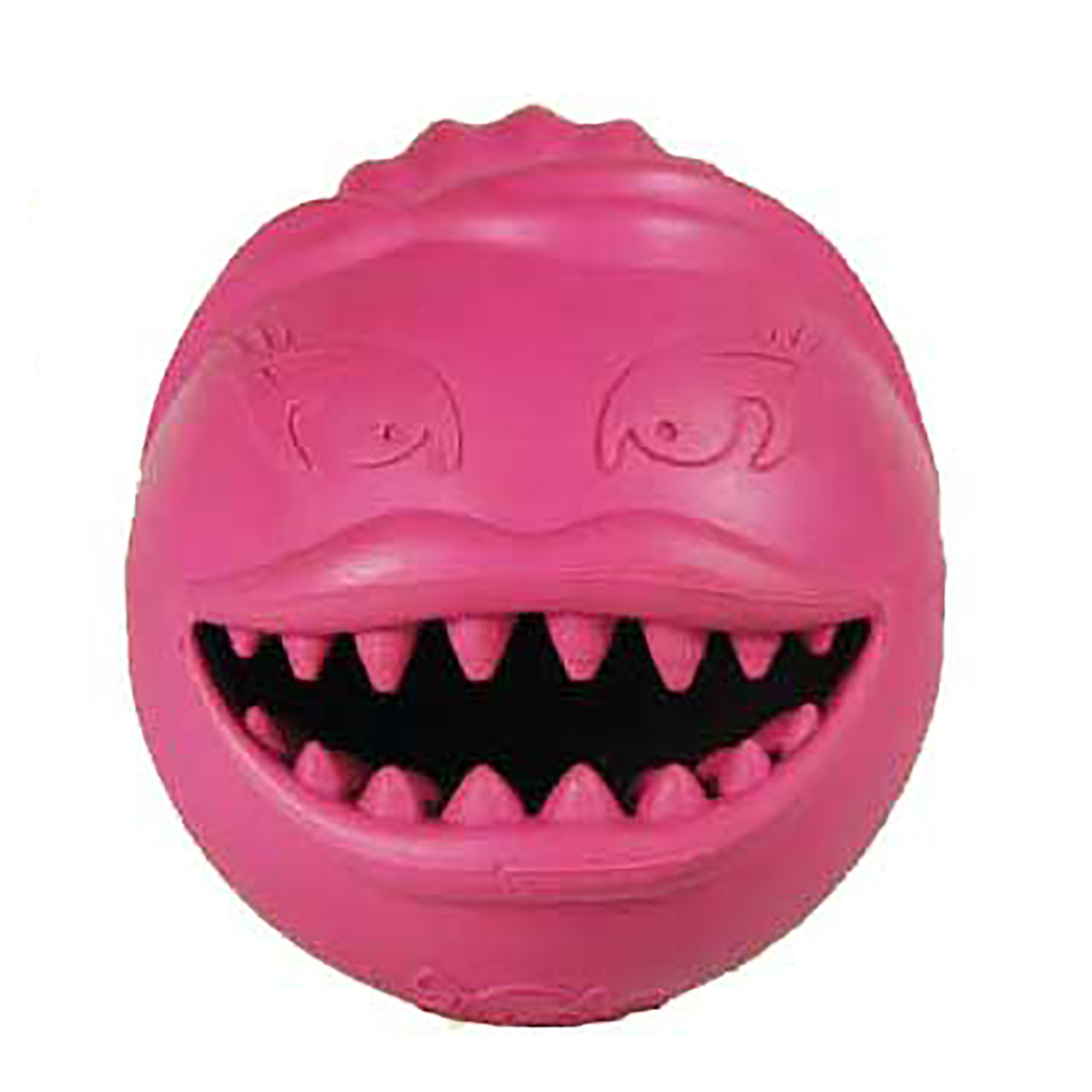 Jolly Pets Monster Girl Ball Dog Toy - Pink
