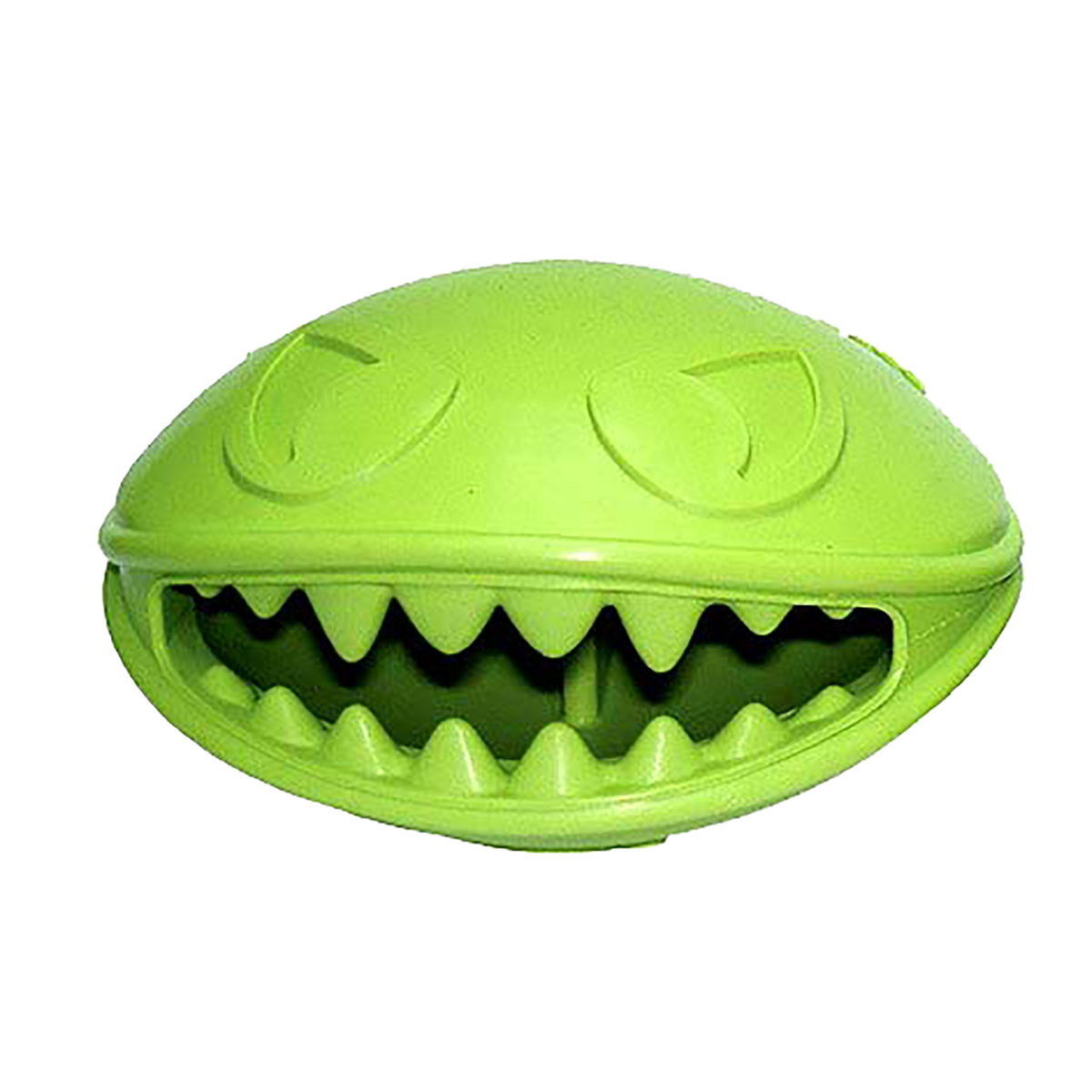 Jolly Pets Monster Mouth Dog Toy - Green
