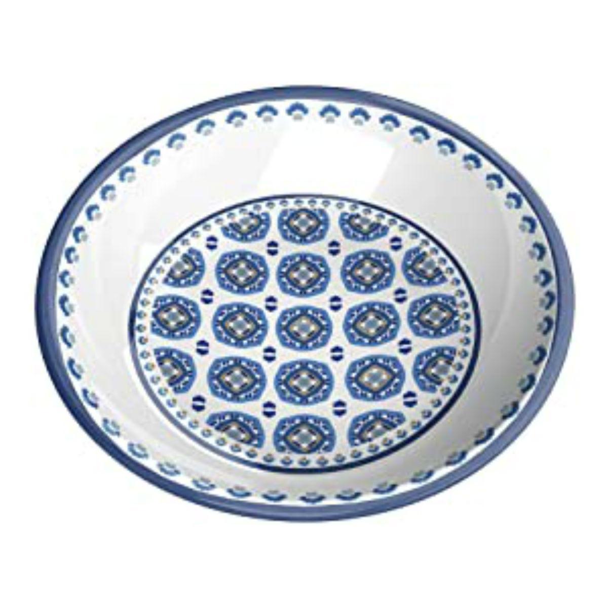 Moroccan Blue Cat Saucer by TarHong - Indigo