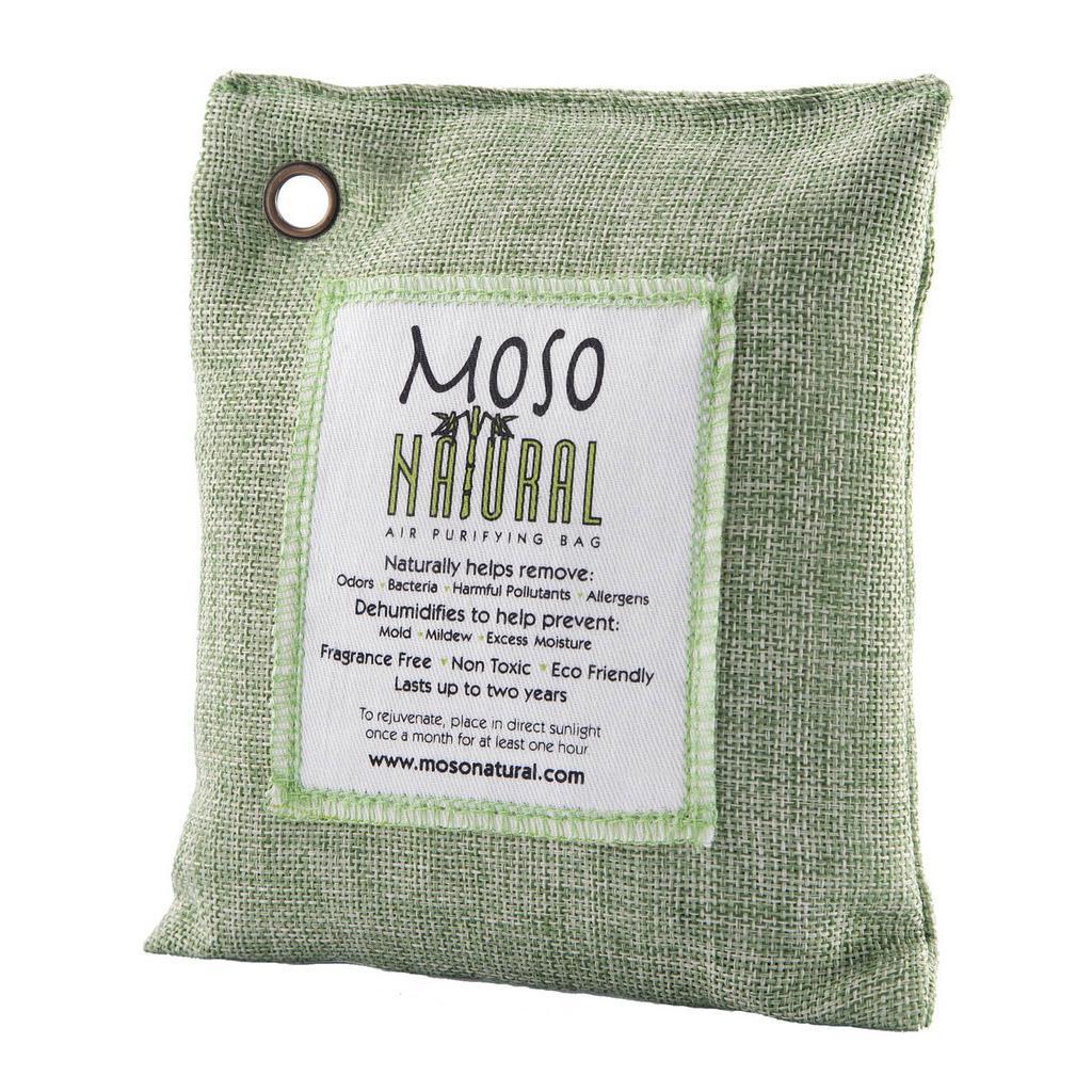 Moso Natural Air Purifying Bag - Green