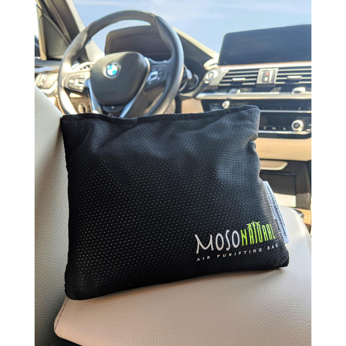 Moso Natural Air Purifying Car Bag - Black