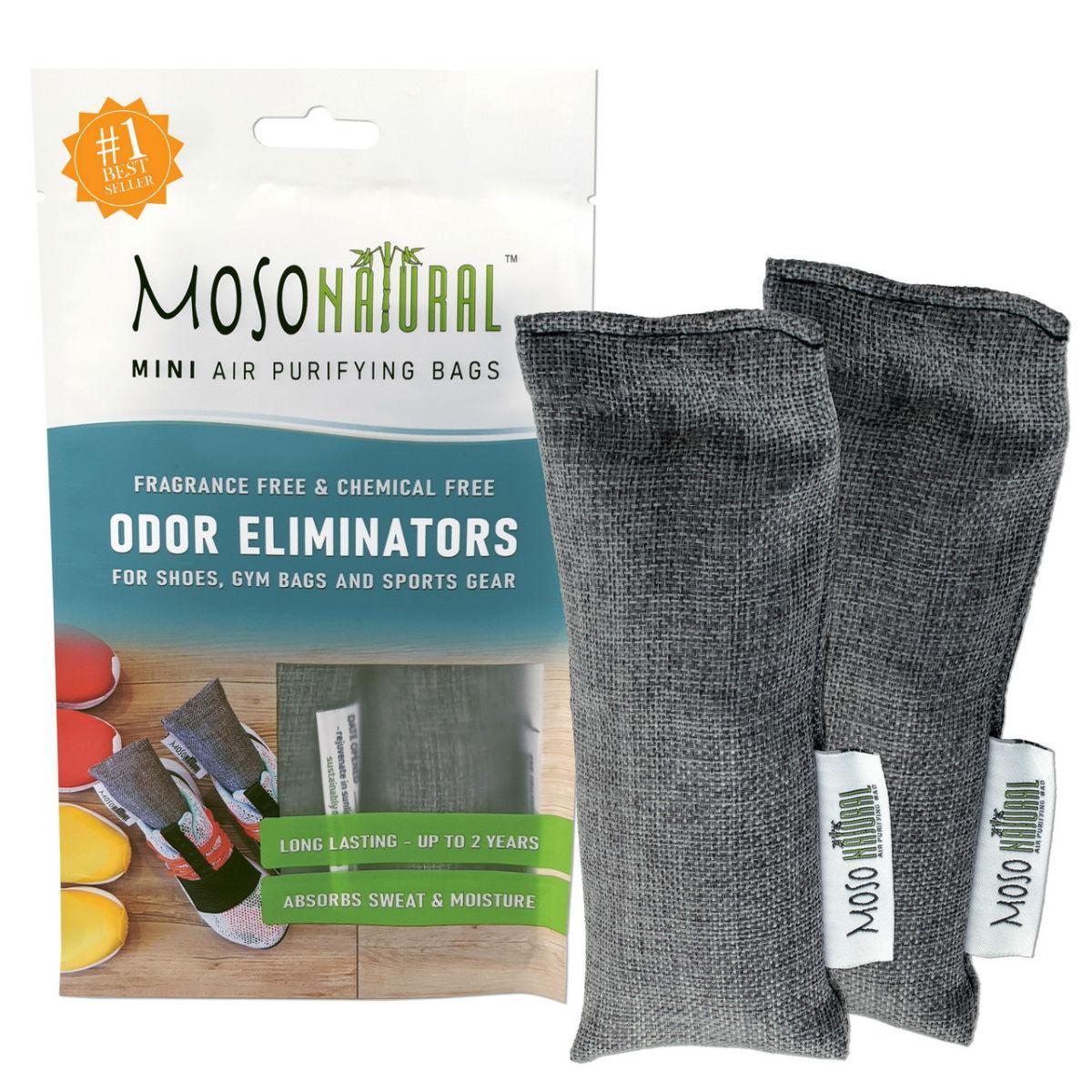 Moso Natural Air Purifying Mini Bags - Charcoal 75g