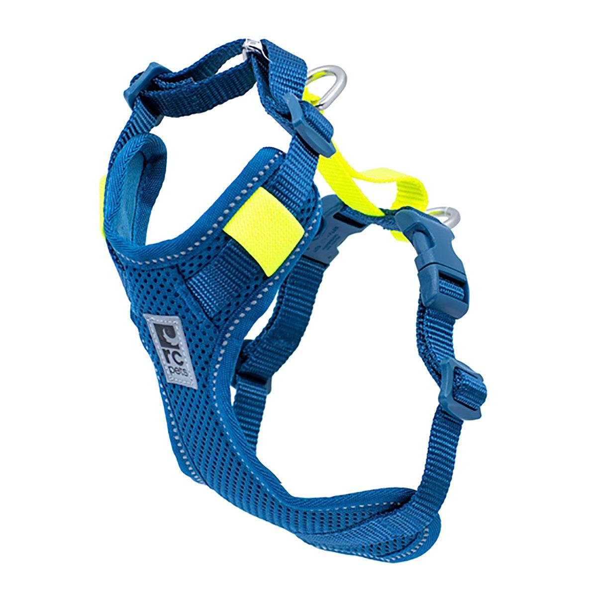 Moto Control Dog Harness - Arctic Blue/Tennis