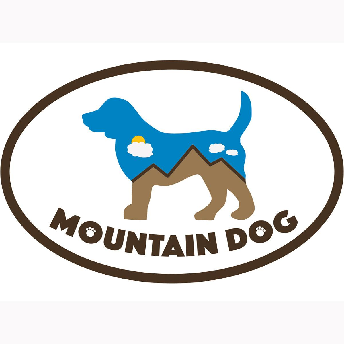 Mountain Dog Oval Magnet by Dog Speak