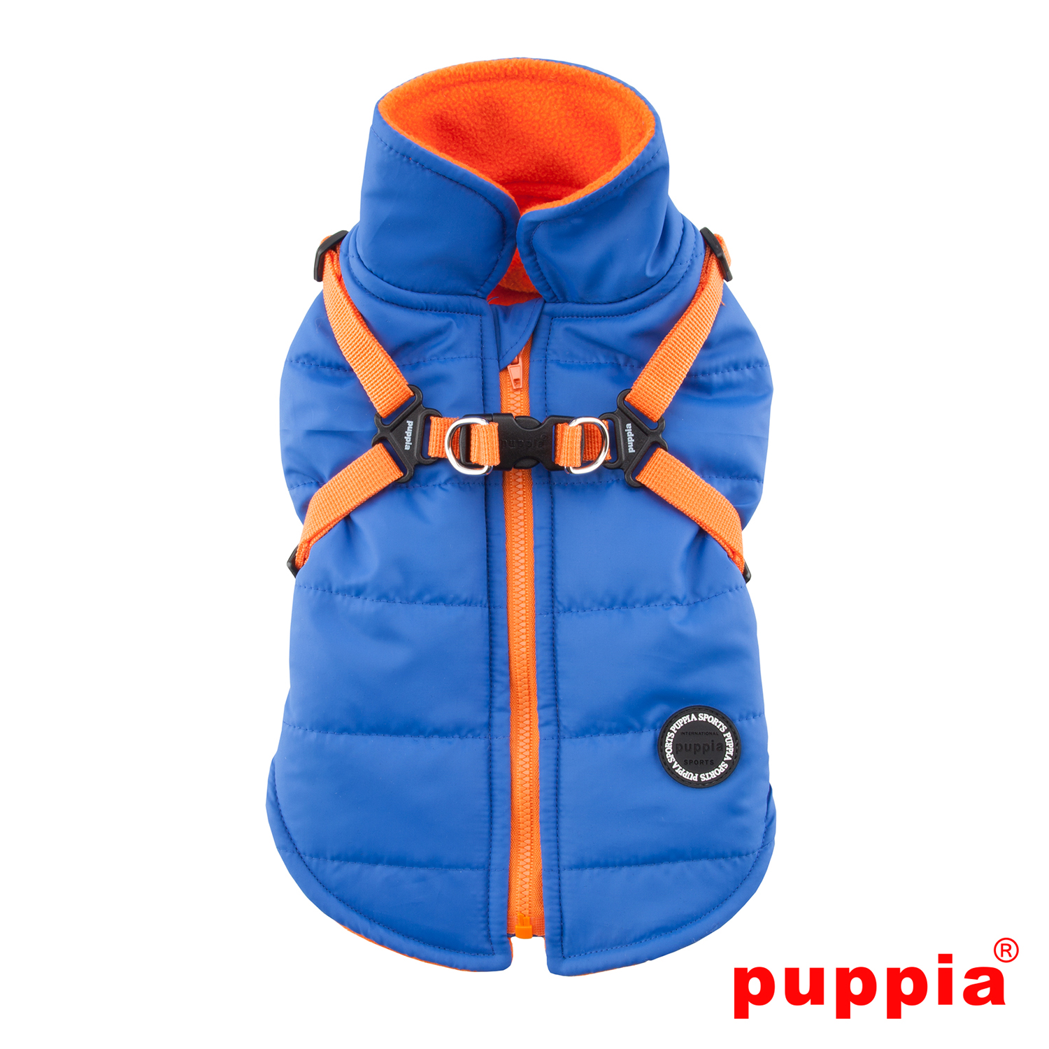 Mountaineer II Fleece Dog Vest by Puppia - Royal Blue